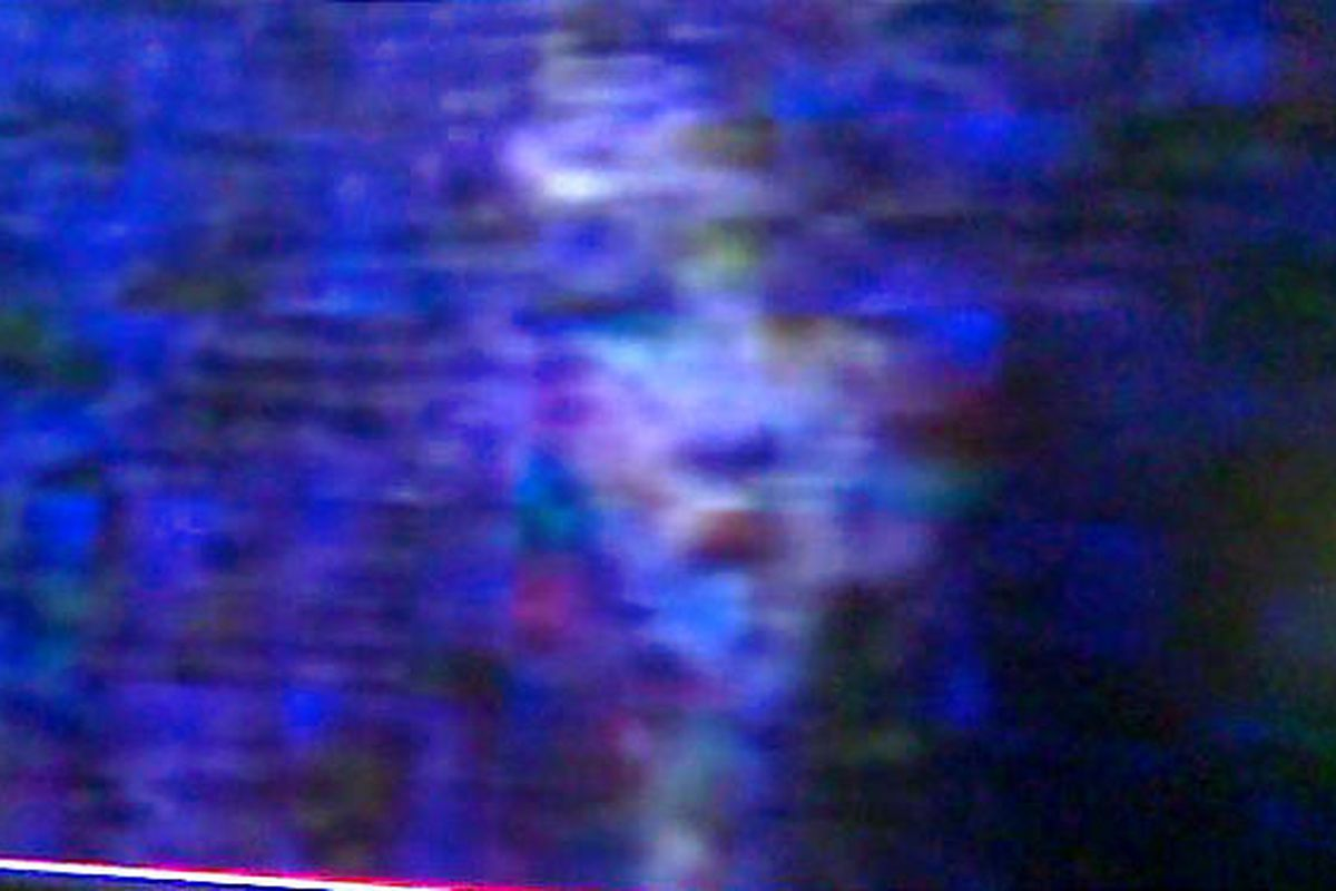 This ghostly image of what appears to be a woman's face showed up on a surveillance camera at Utah Pioneer Memorial Museum.
