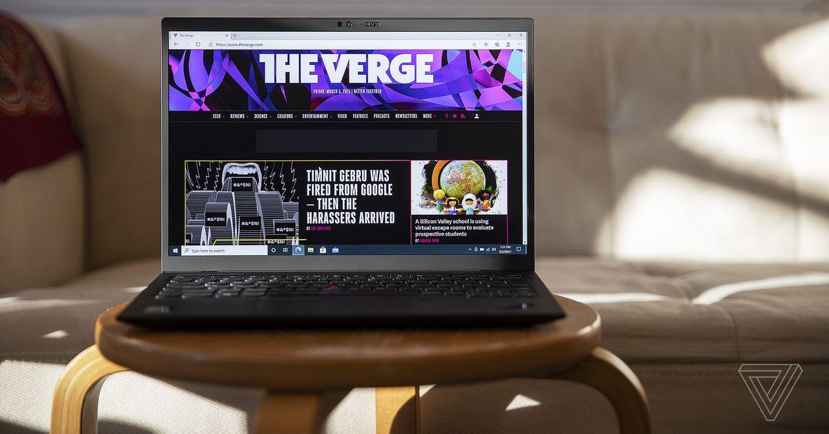 Lenovo ThinkPad X1 Nano review: light it up