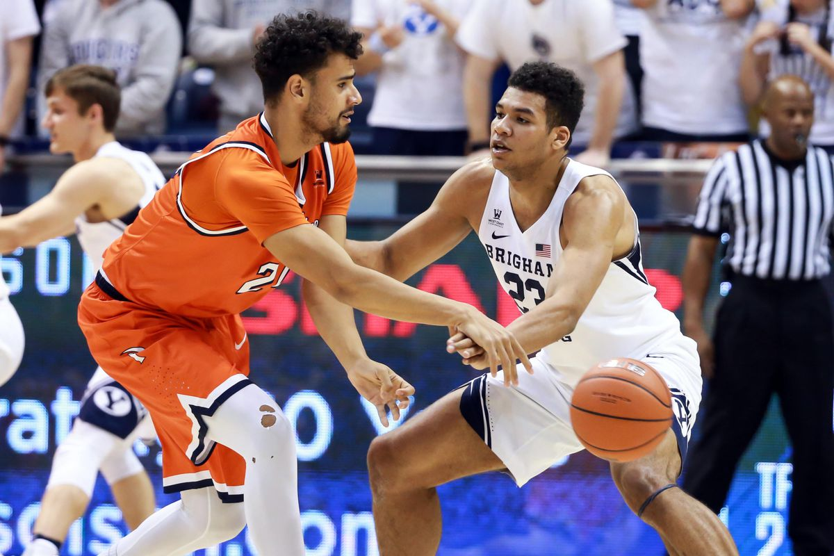 Childs' double-double, Guinn's defense propel BYU ...