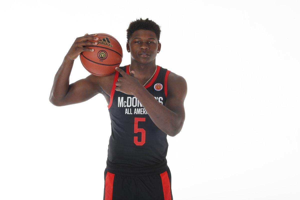 High School Basketball: McDonald's High School All American Portrait Day