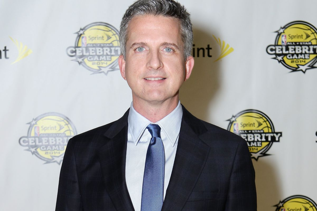 Sports columnist Bill Simmons attends the NBA All-Star Celebrity Game 2014 at the New Orleans Arena on February 14, 2014, in New Orleans, Louisiana.