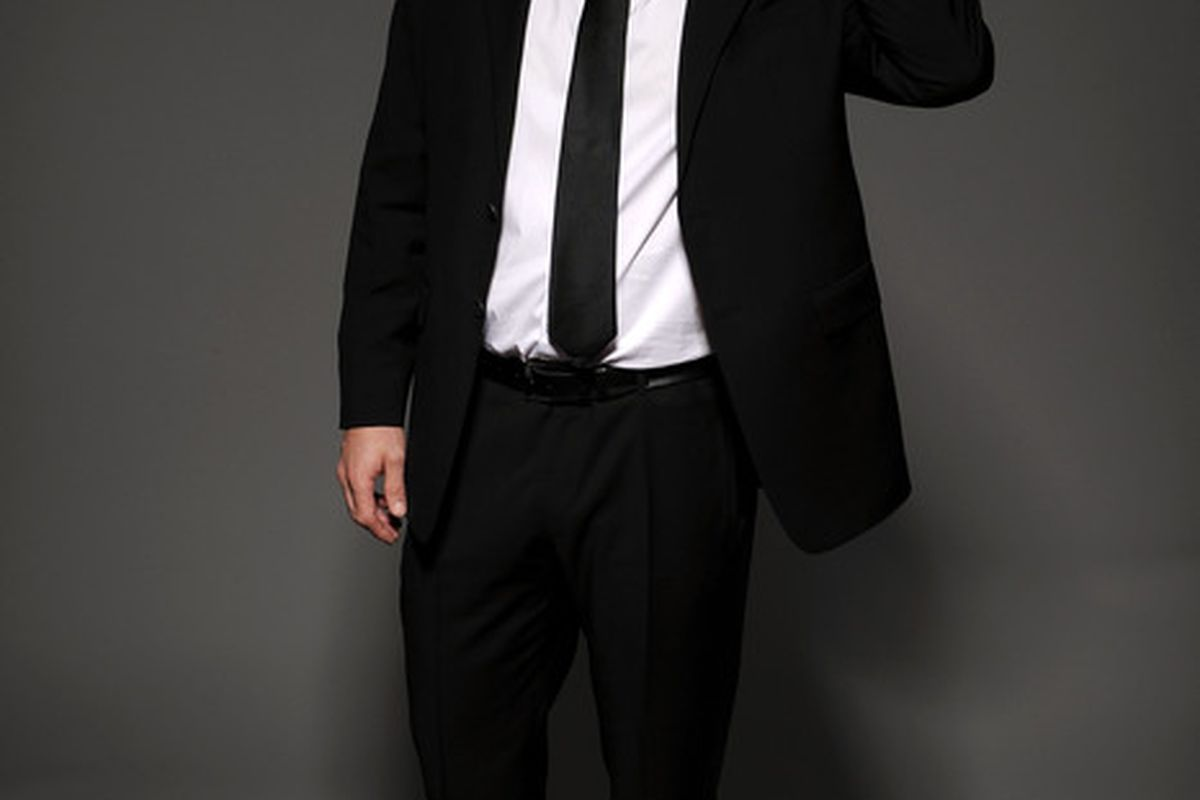 LAS VEGAS - JUNE 23:  Martin Brodeur of the New Jersey Devils poses for a portrait during the 2010 NHL Awards at the Palms Casino Resort on June 23, 2010 in Las Vegas, Nevada.  (Photo by Harry How/Getty Images)
