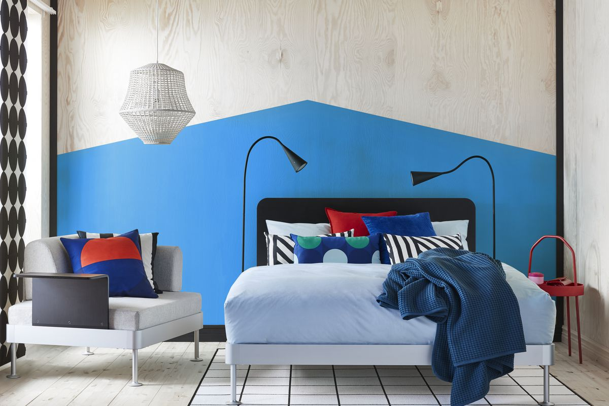 ikea and tom dixon to launch delaktig bed curbed. Black Bedroom Furniture Sets. Home Design Ideas