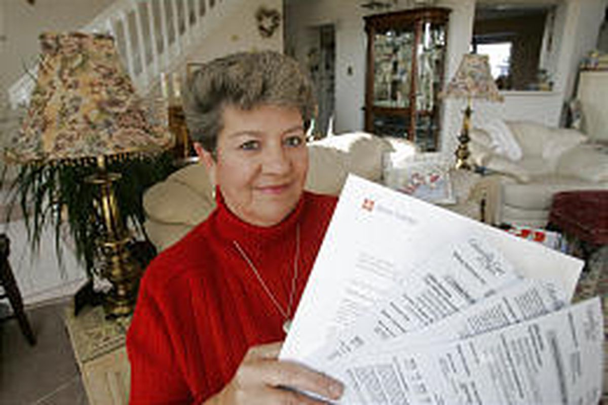 Kathy Meyers of Westerville, Ohio, locked in a two-year energy contract in July and is saving money now.