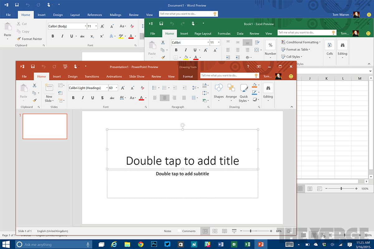 Microsoft Office 2016 >> Office 2016 For Windows Launches On September 22nd The Verge