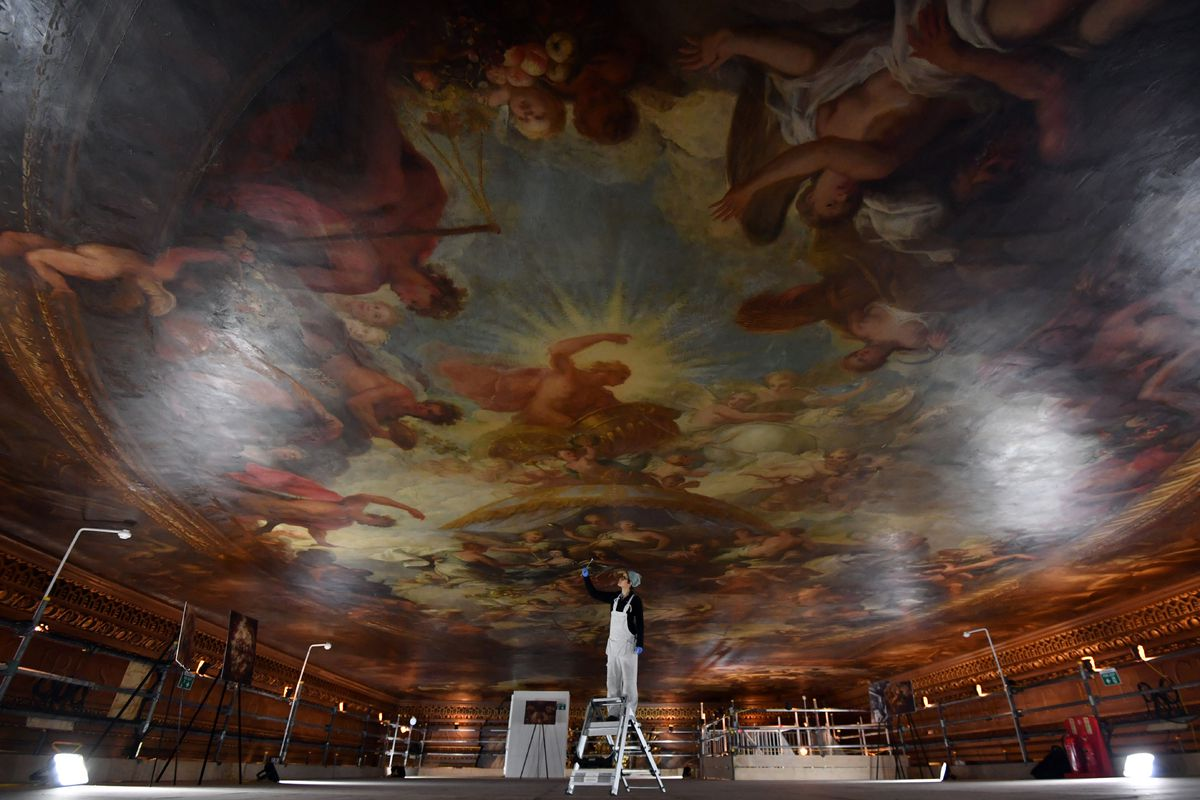 Painted Hall, at the Old Royal Naval College