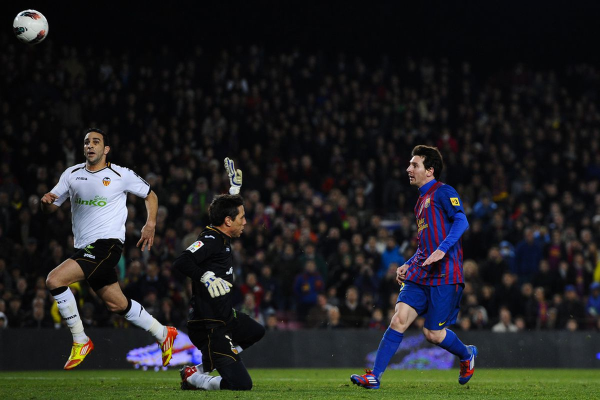 Leo had a field day last time we faced Valencia