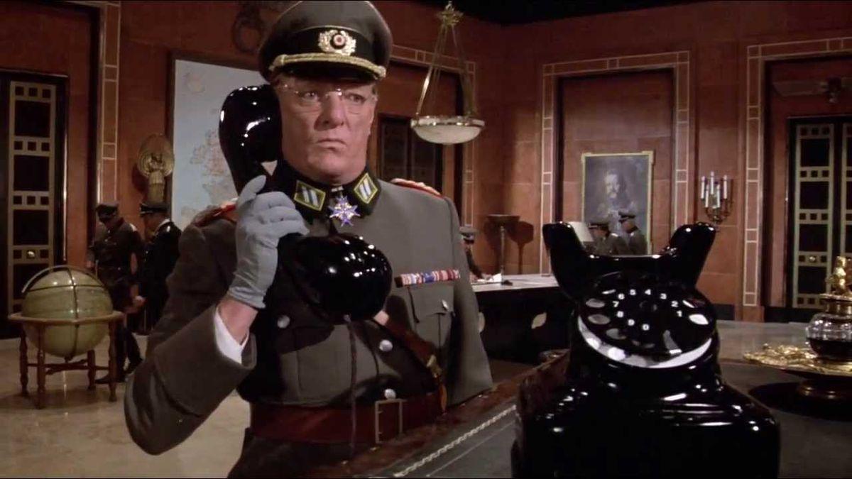 Top Secret: Nazi picks up a giant phone