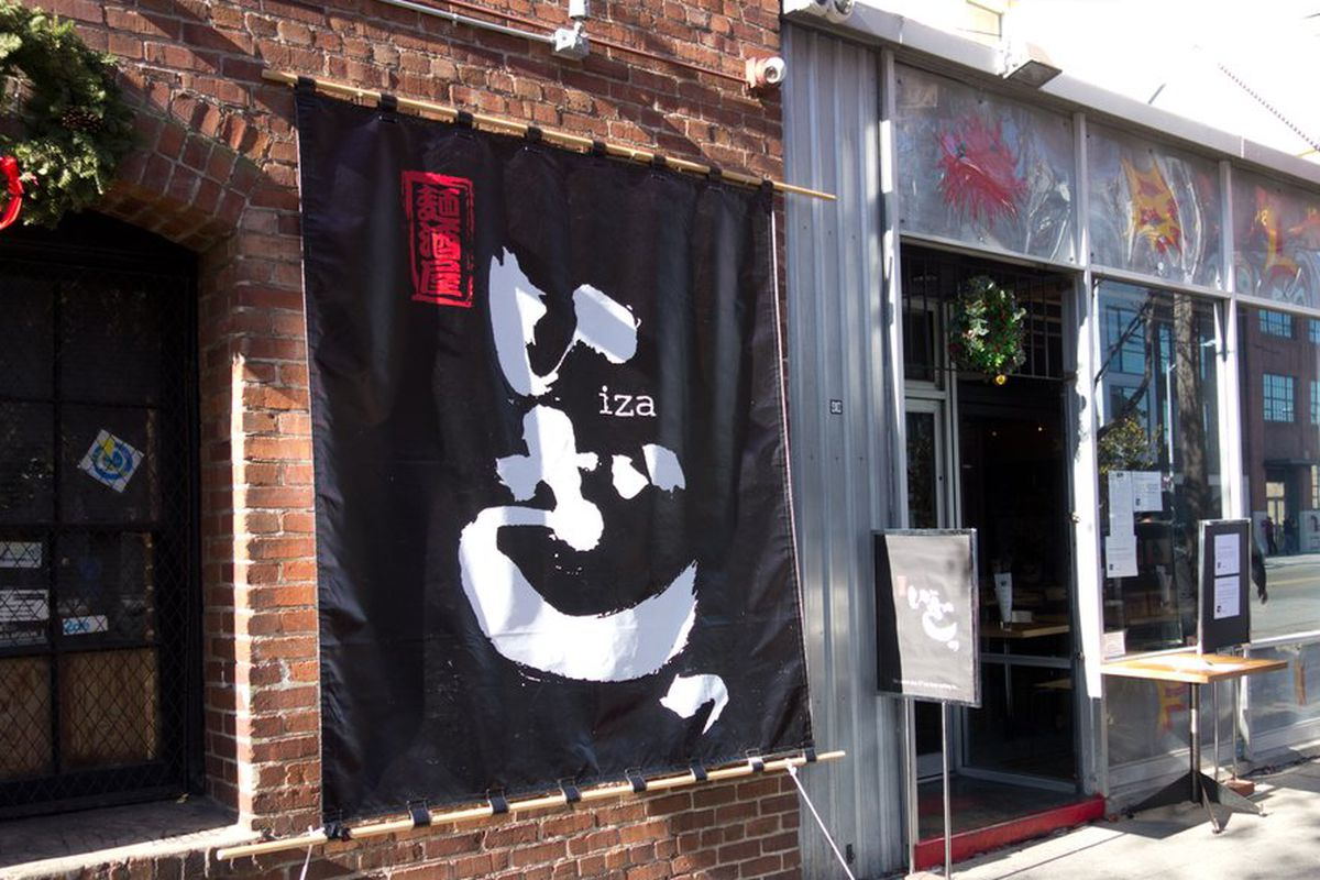 The Iza Ramen pop-up at Blowfish Sushi.