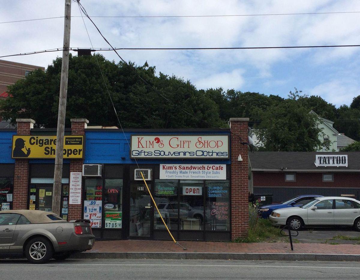 kim's sandwich shop ext kate mccarty