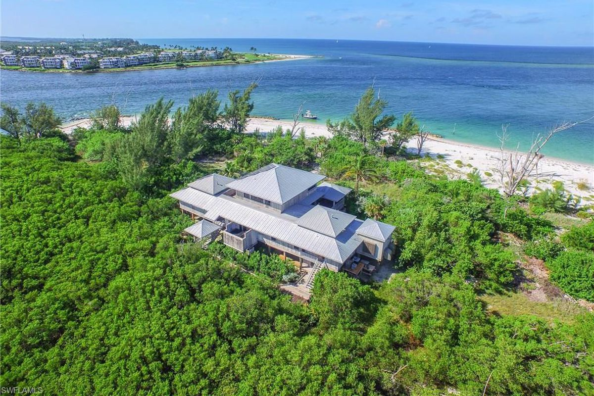 Billionaire lists Captiva Island home for $5.7M - Curbed Miami