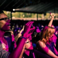 This is the Sweetlife Festival's fourth year. Organizers estimated 20,000 were on hand Saturday. Photo: Sweetgreen.