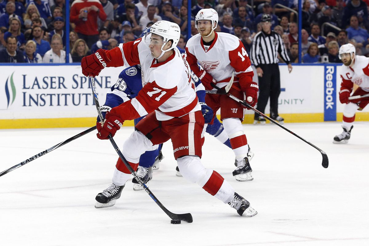 It's a given that Dylan Larkin will be a Red Wing next year, but many other roster positions are less secure.