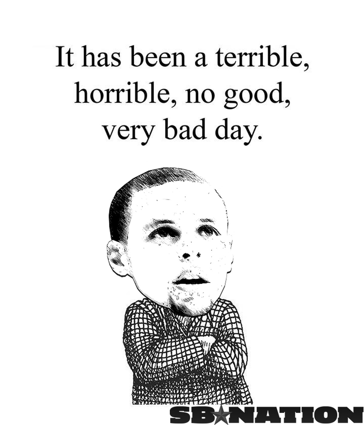 Stephen Curry Had A Terrible, Horrible, No Good, Very Bad