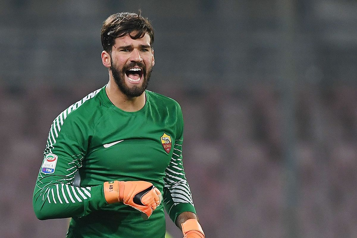 Roma 'not thinking about selling' Alisson this summer