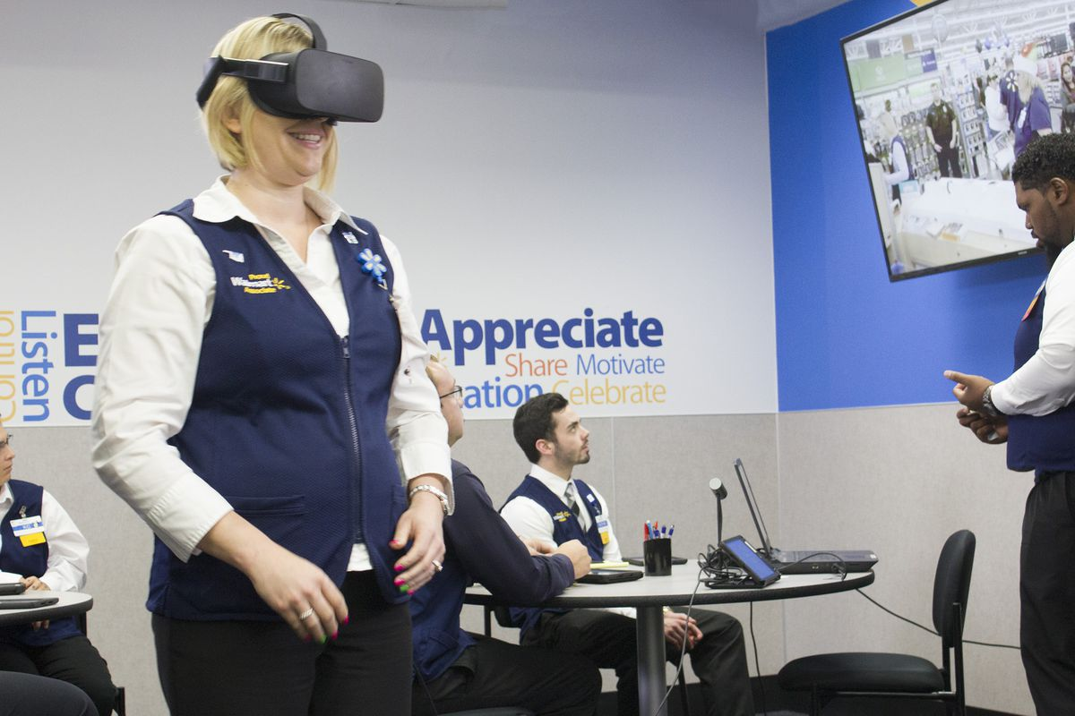 3ecec5394ec0e Walmart is training employees with a Black Friday VR simulator - The ...