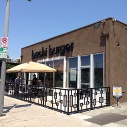 """Begin your afternoon at <a href=""""http://www.bachiburger.com/"""">Bachi Burger</a> (2030 Sawtelle Blvd), a Vegas-bred Asian fusion spot that's fresh off its <a href=""""http://la.eater.com/2014/9/25/6845837/bachi-burger-los-angeles-sawtelle-burgers-opening-photo"""