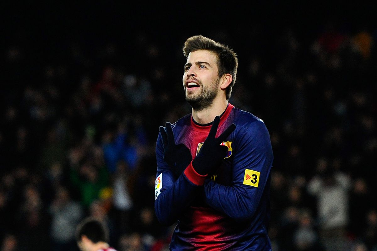 Will Pique be able to stop Falcao?