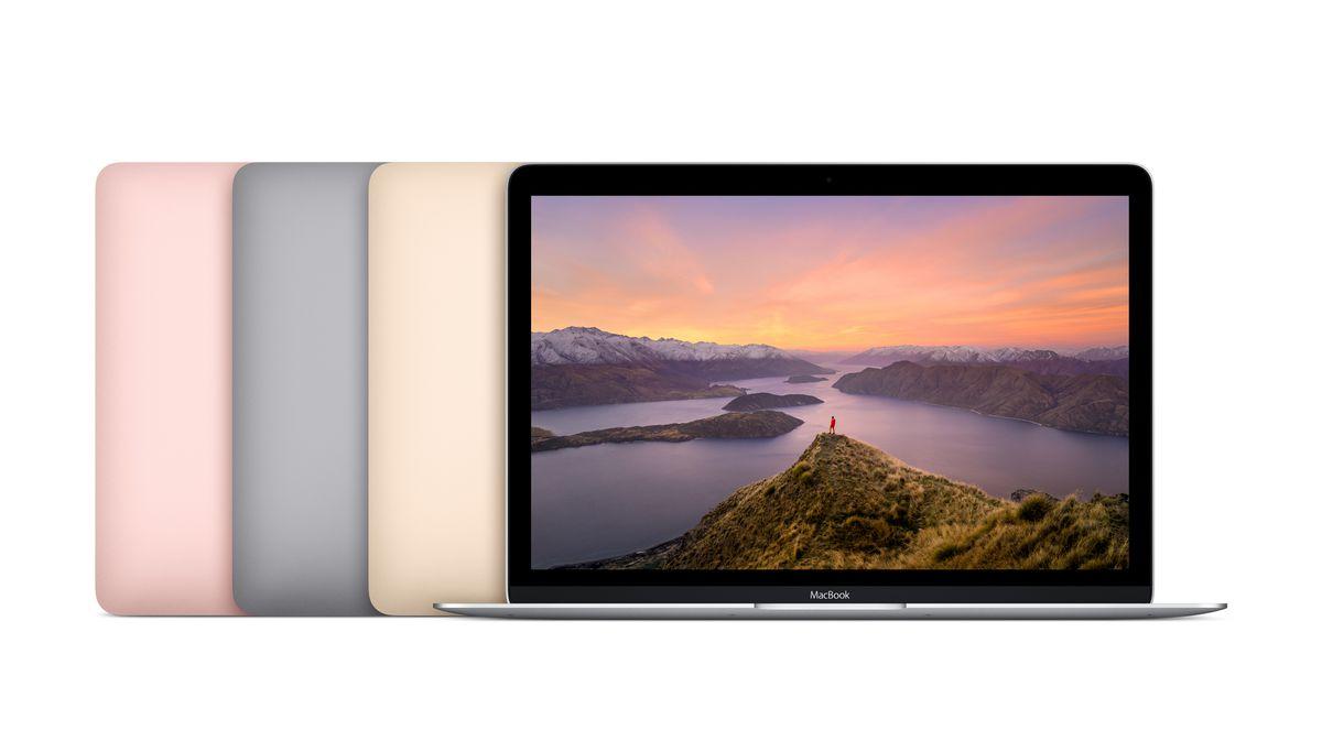 New MacBook colors