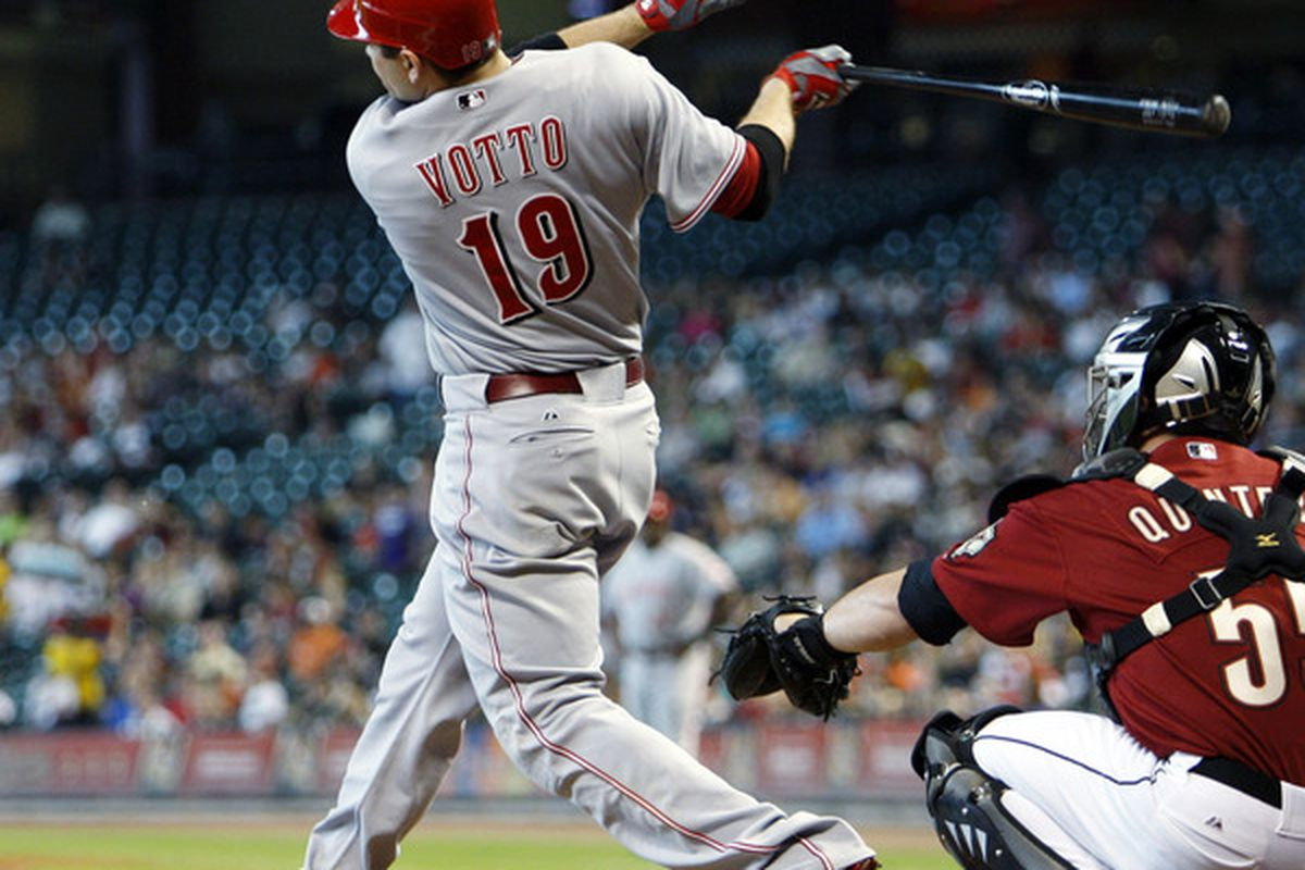 Joey Votto: MVP?  He's certainly the best hitter on the best NL playoff offense.