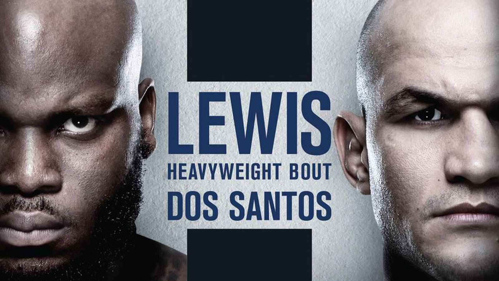 Pic: UFC Wichita poster drops for 'Lewis vs Dos Santos' on March 9
