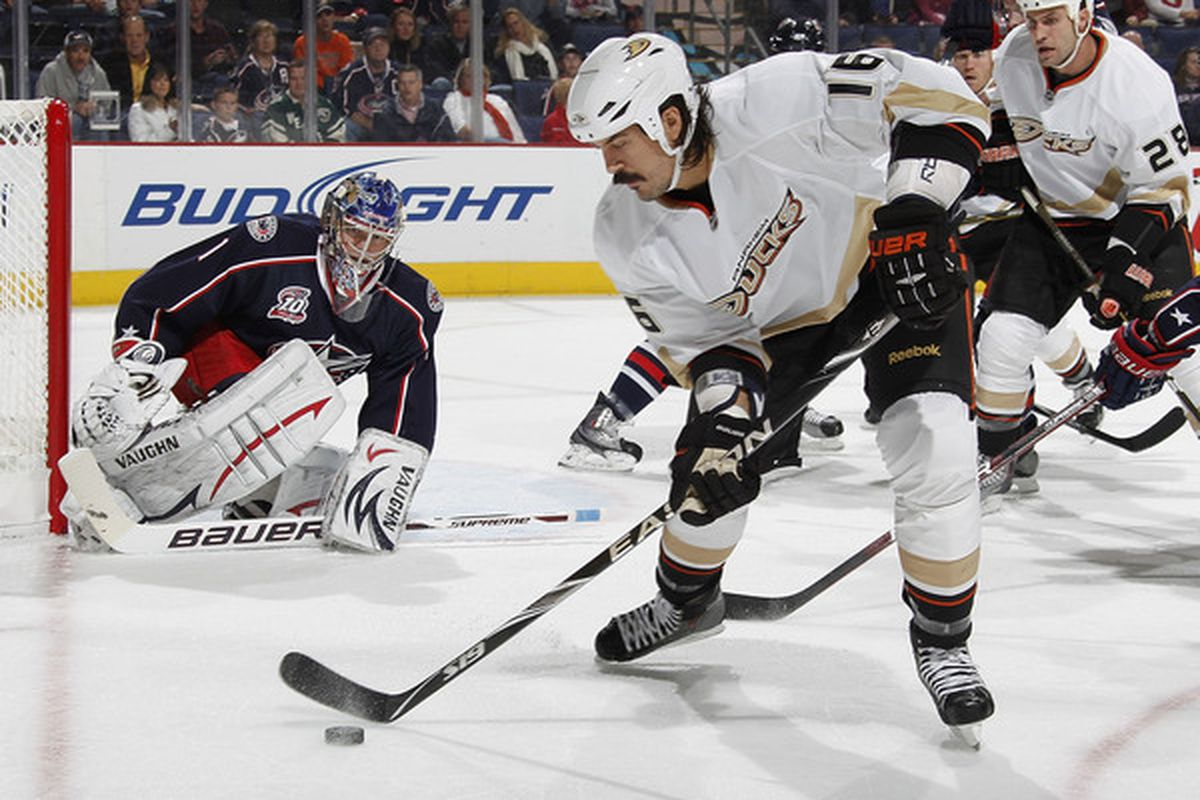 George Parros was one of four Princeton alums skating in the NHL this season.