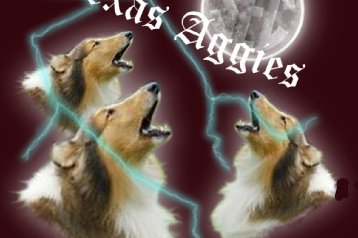 Texas A&M is eager to get SEC play underway.  They've even evoked their American Collie mascot Reveille's magical properties to help them out.