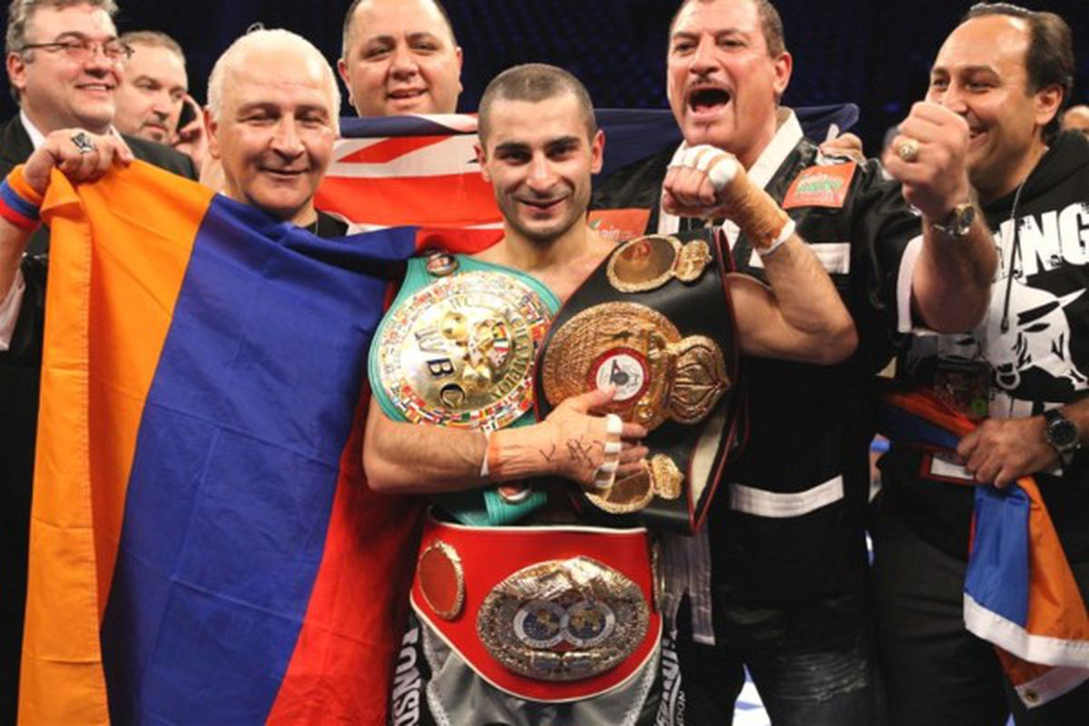 """Vic Darchinyan has decided to vacate his IBF 115-pound title. (via <a href=""""http://www.youngvictorboxing.com.au/Vic_Darchinyan_Win.jpg"""">www.youngvictorboxing.com.au</a>)"""
