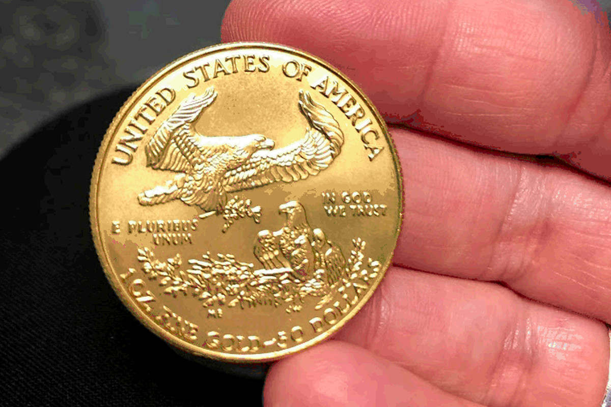 Salvation Army of Chicago received its second gold coin donation this season Nov. 22, 2019, in Geneva.