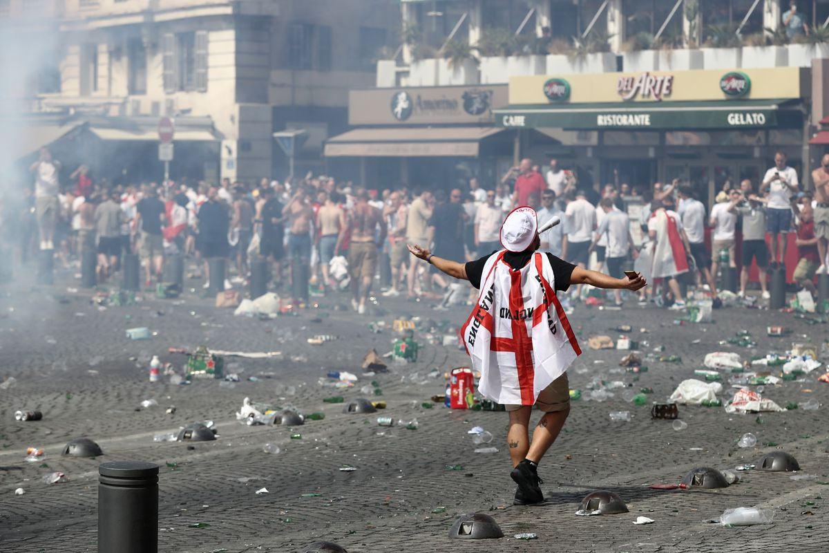Excitement Mounts As England Prepare To Take On Russia In The Euros