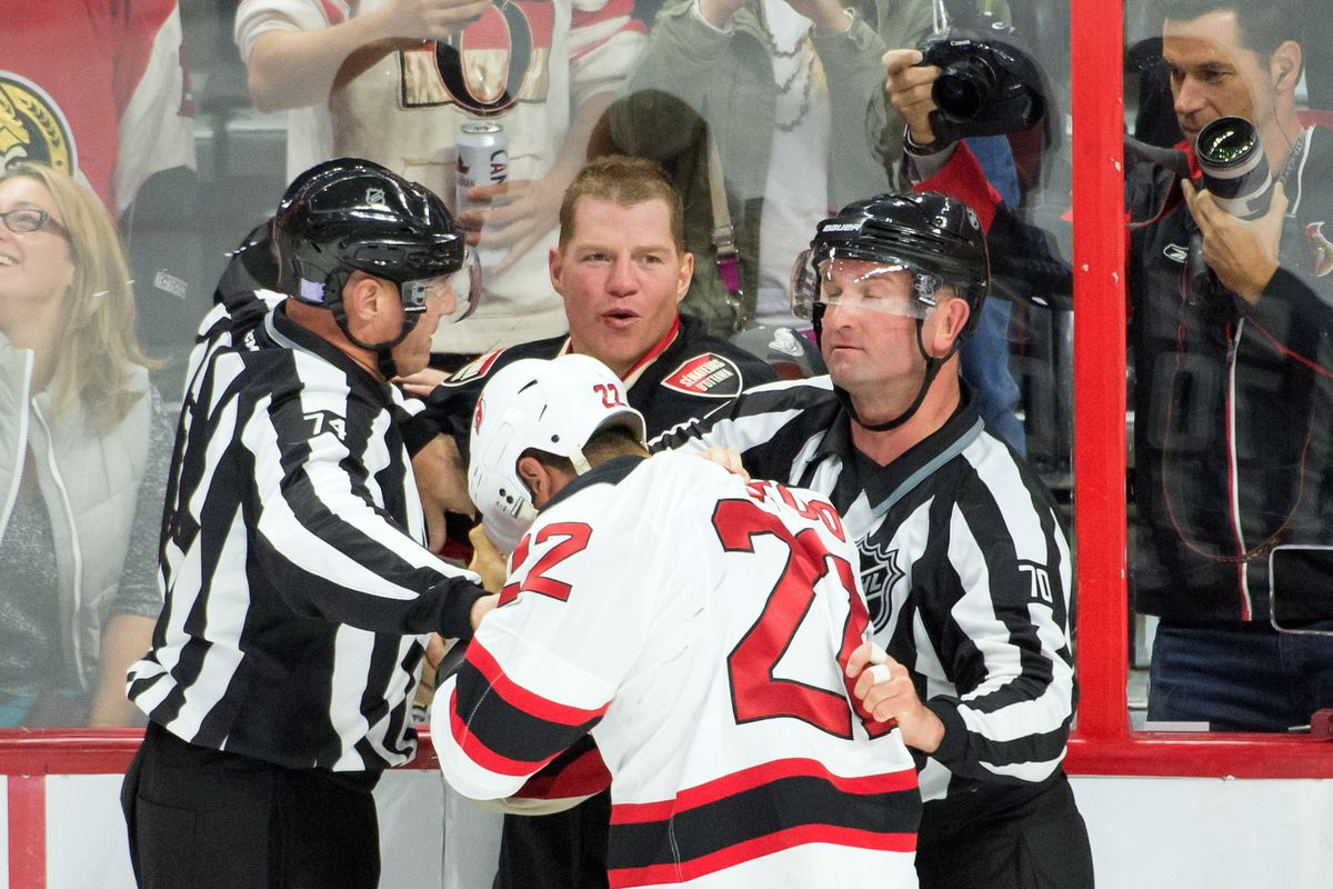 Fights still get Neil pumped up like they did 899 games ago
