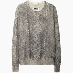 """MM6 cable sweater, <a href=""""http://www.stevenalan.com/F14_NA_F14_S32GP0129.html?dwvar_F14__NA__F14__S32GP0129_color=020#cgid=womens-clothing-sweaters&frmt=ajax&view=all&start=0&hitcount=92"""">$595</a> at Steven Alan"""