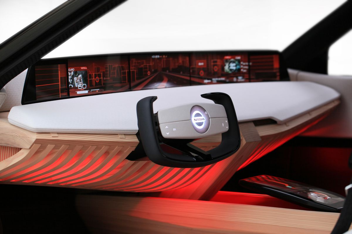 The Nissan Xmotion SUV is more screen than car - The Verge