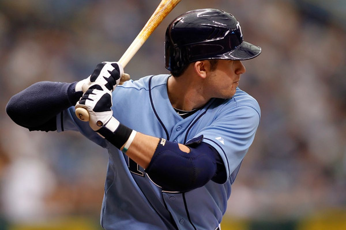 ST. PETERSBURG - MAY 16:  Infielder Evan Longoria #3 of the Tampa Bay Rays bats against the Seattle Mariners during the game at Tropicana Field on May 16, 2010 in St. Petersburg, Florida.  (Photo by J. Meric/Getty Images)