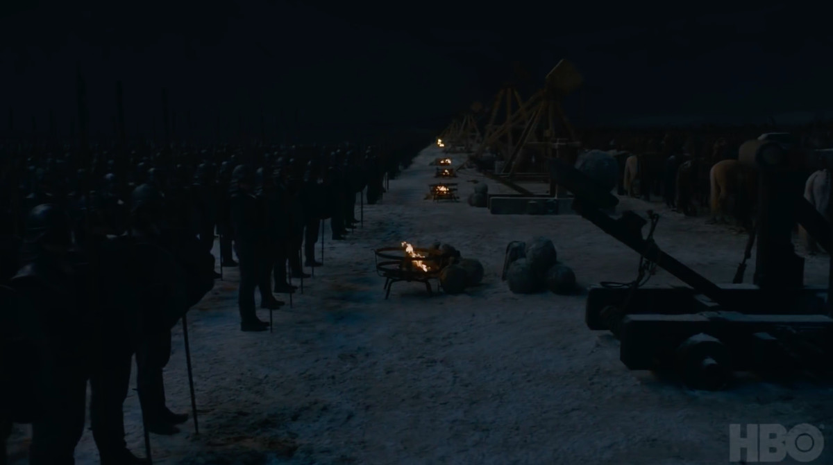 game of thrones season 8 episode 3 - battle of winterfell
