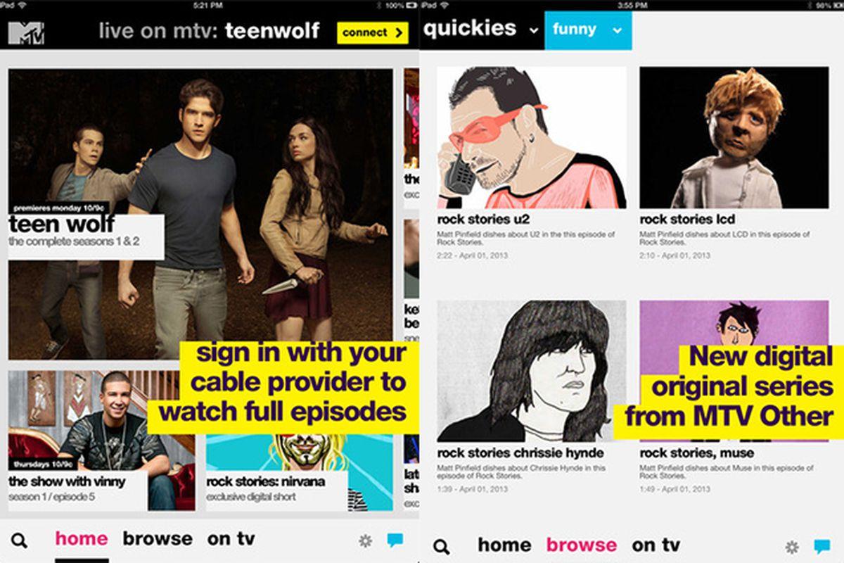 MTV App