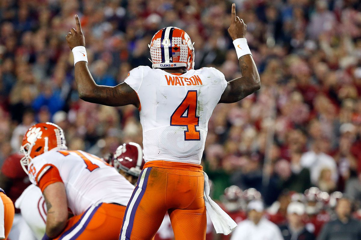 low priced 772bf 77a76 Sam's Film Room: Deshaun Watson needs to sit for a season ...