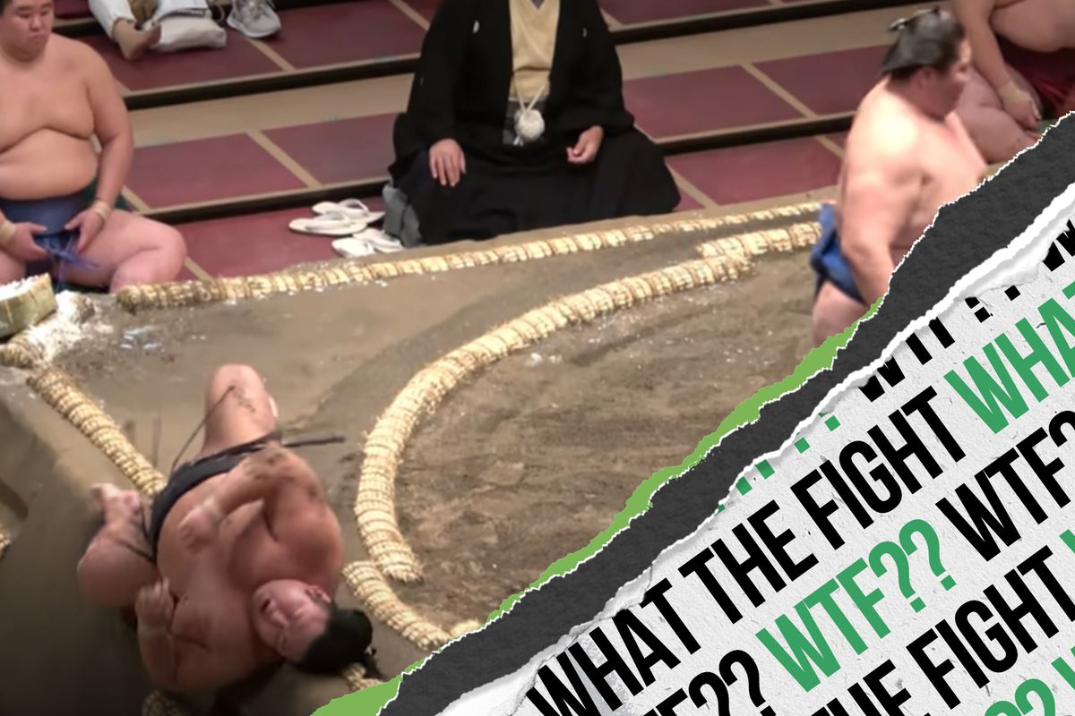 WTF? Jaw-dropping KOs, inter-style gym fights and sumo highlights