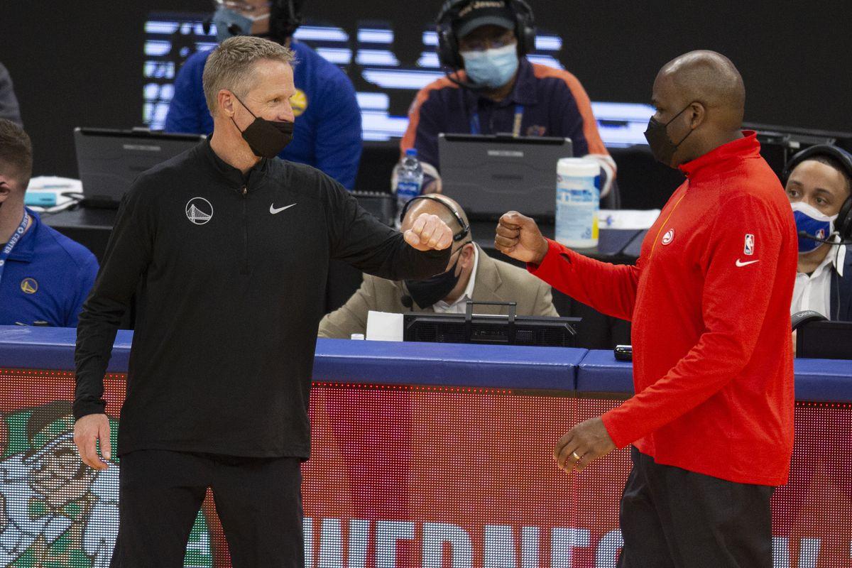 NBA: Atlanta Hawks at Golden State Warriors