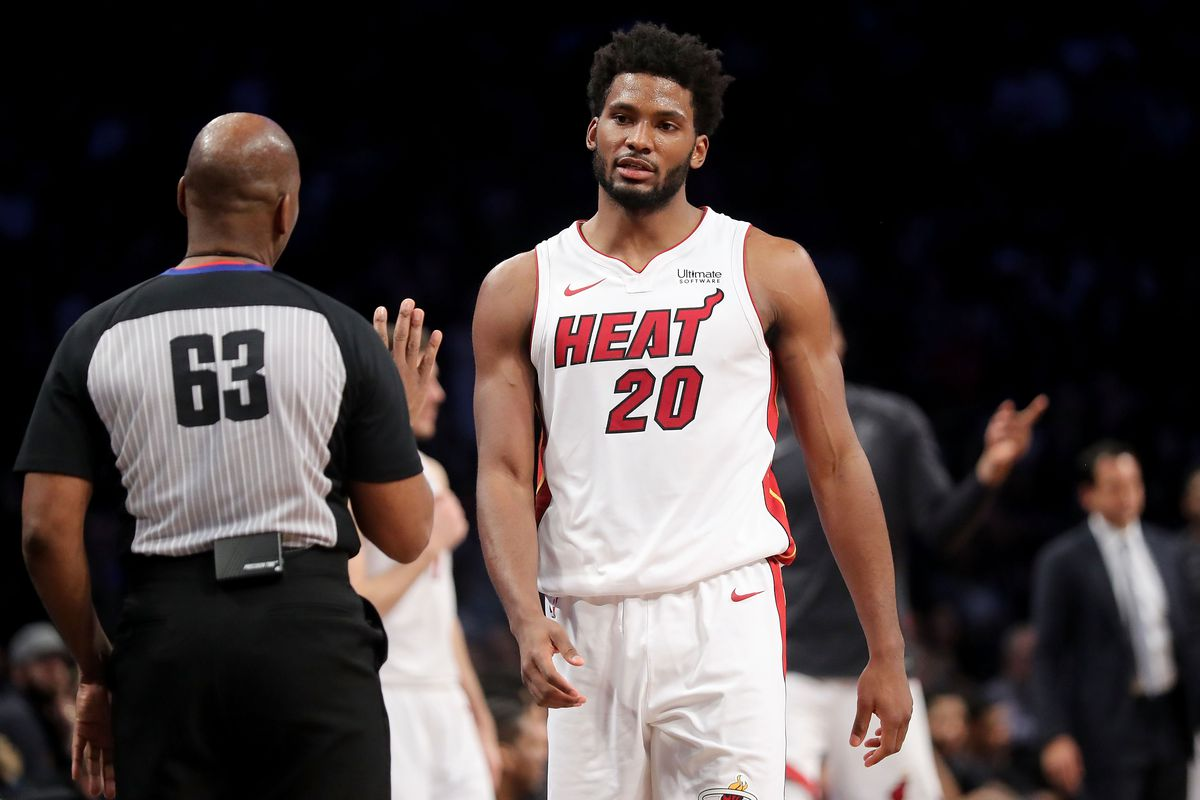 watch d1e18 37b47 Justise Winslow contract: Miami Heat stay in salary cap hell ...