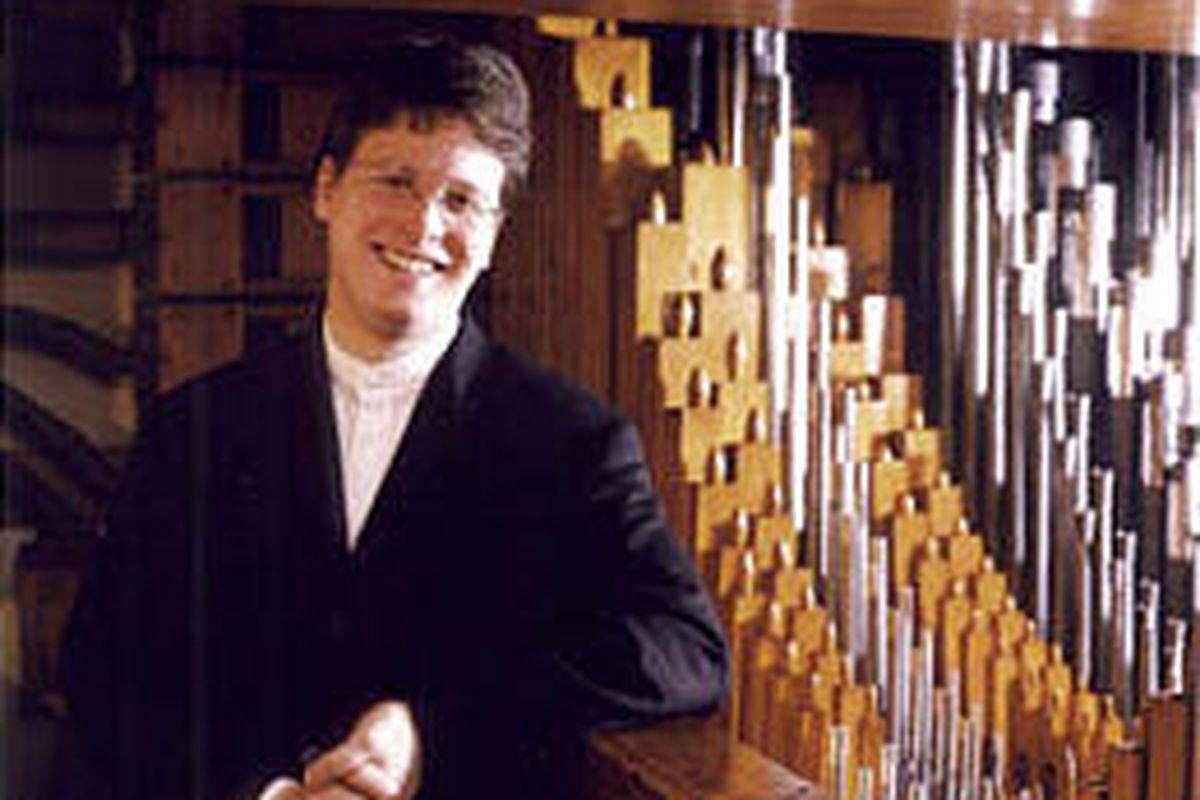 Organist Paul Jacobs will present an all-German program of music.