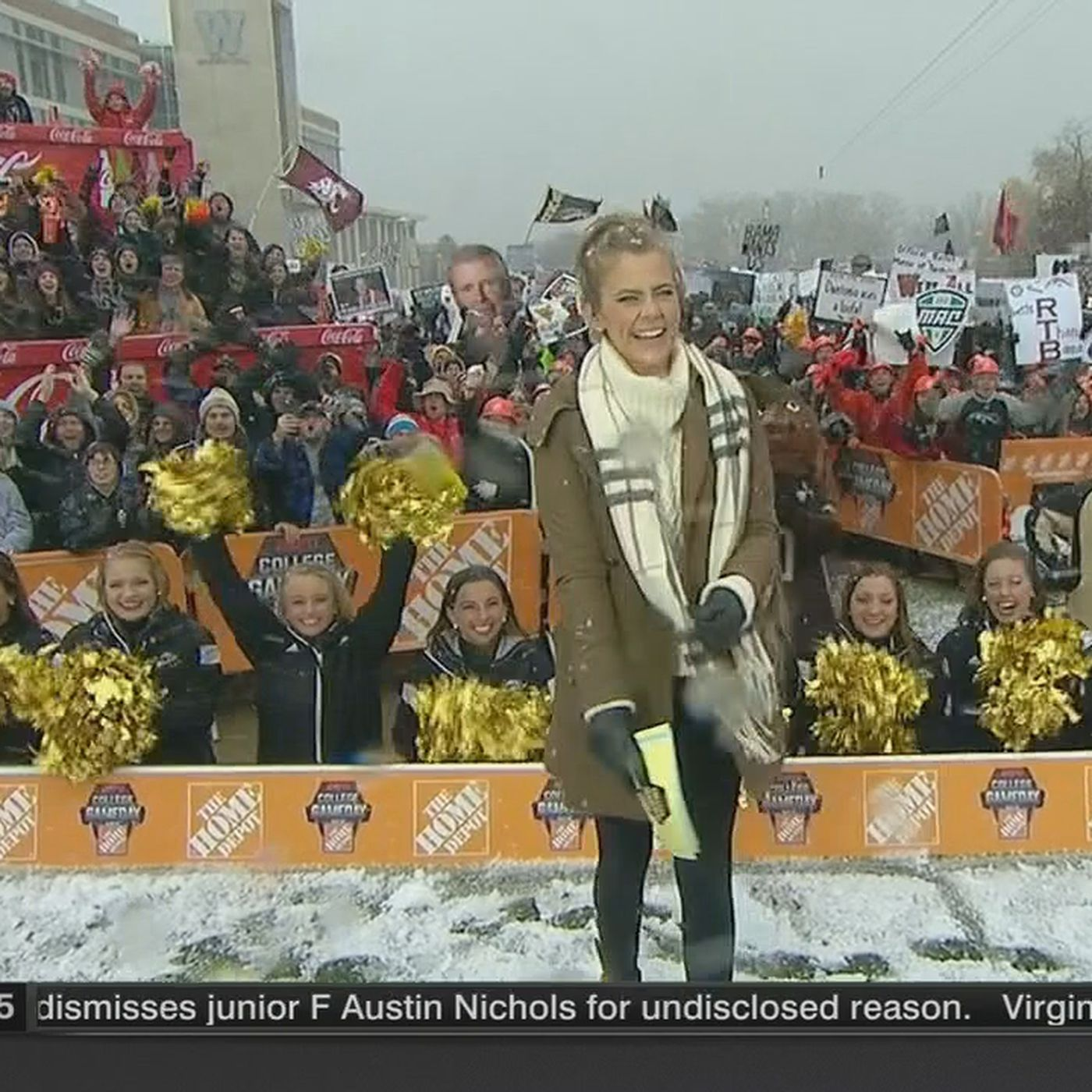 Espn S Sam Ponder Will Be Unhappy In The Cold Again This Upcoming Saturday Sbnation Com