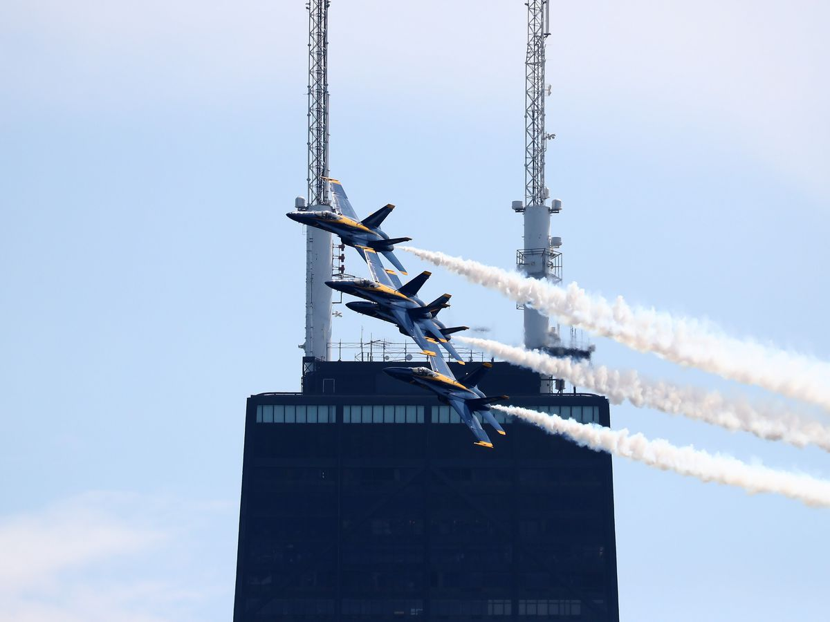 Where to watch the Chicago Air and Water Show - Curbed Chicago