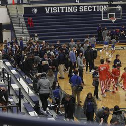 Westlake and Lehi play in a tournament at Corner Canyon High School in Draper on Thursday, Dec. 3, 2020.