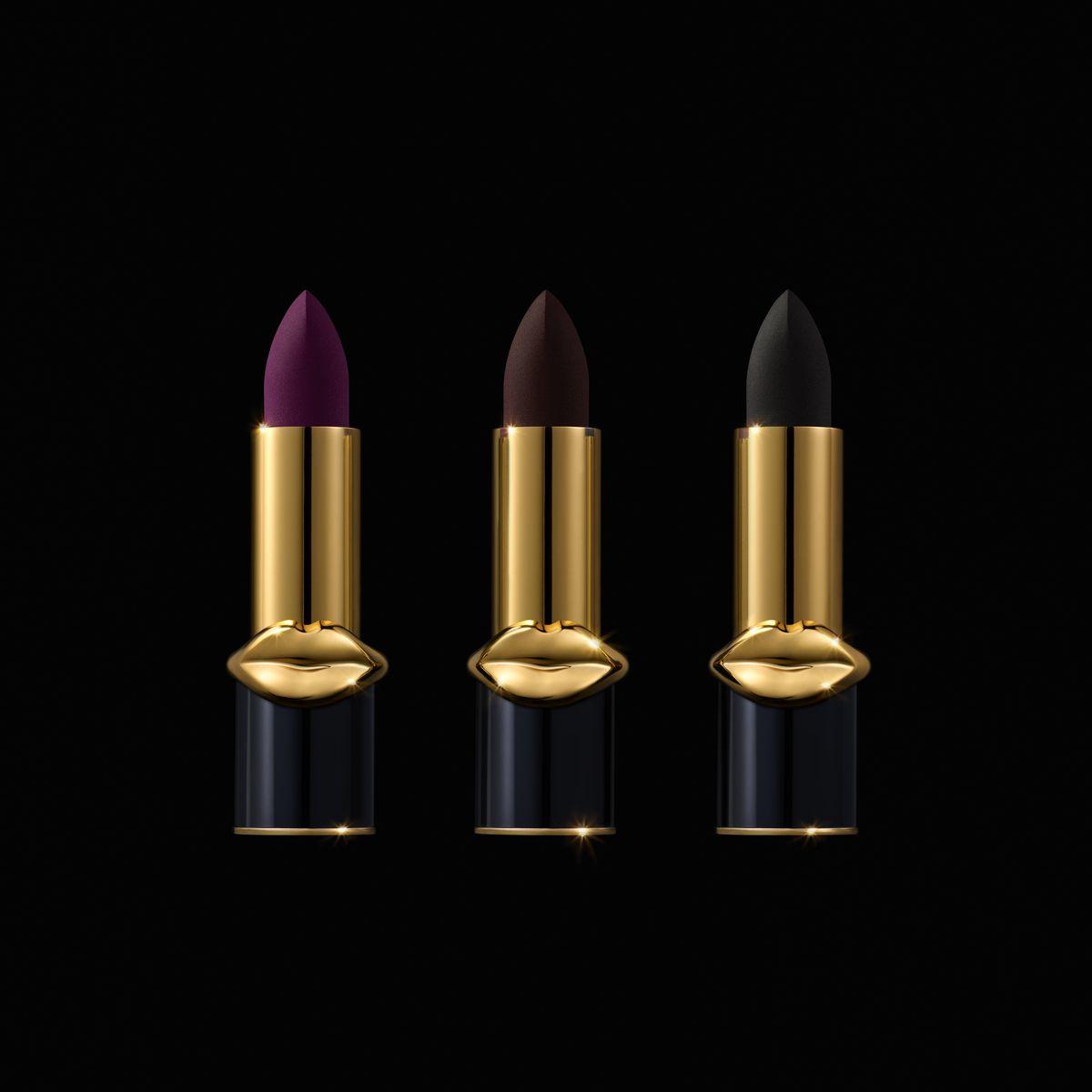 3 dark lipsticks