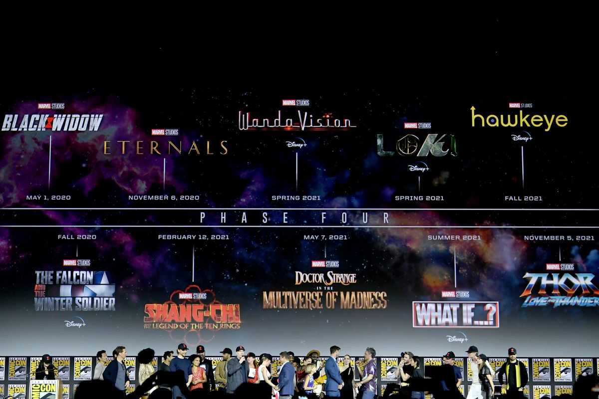 Image result for marvel phase 4 slate