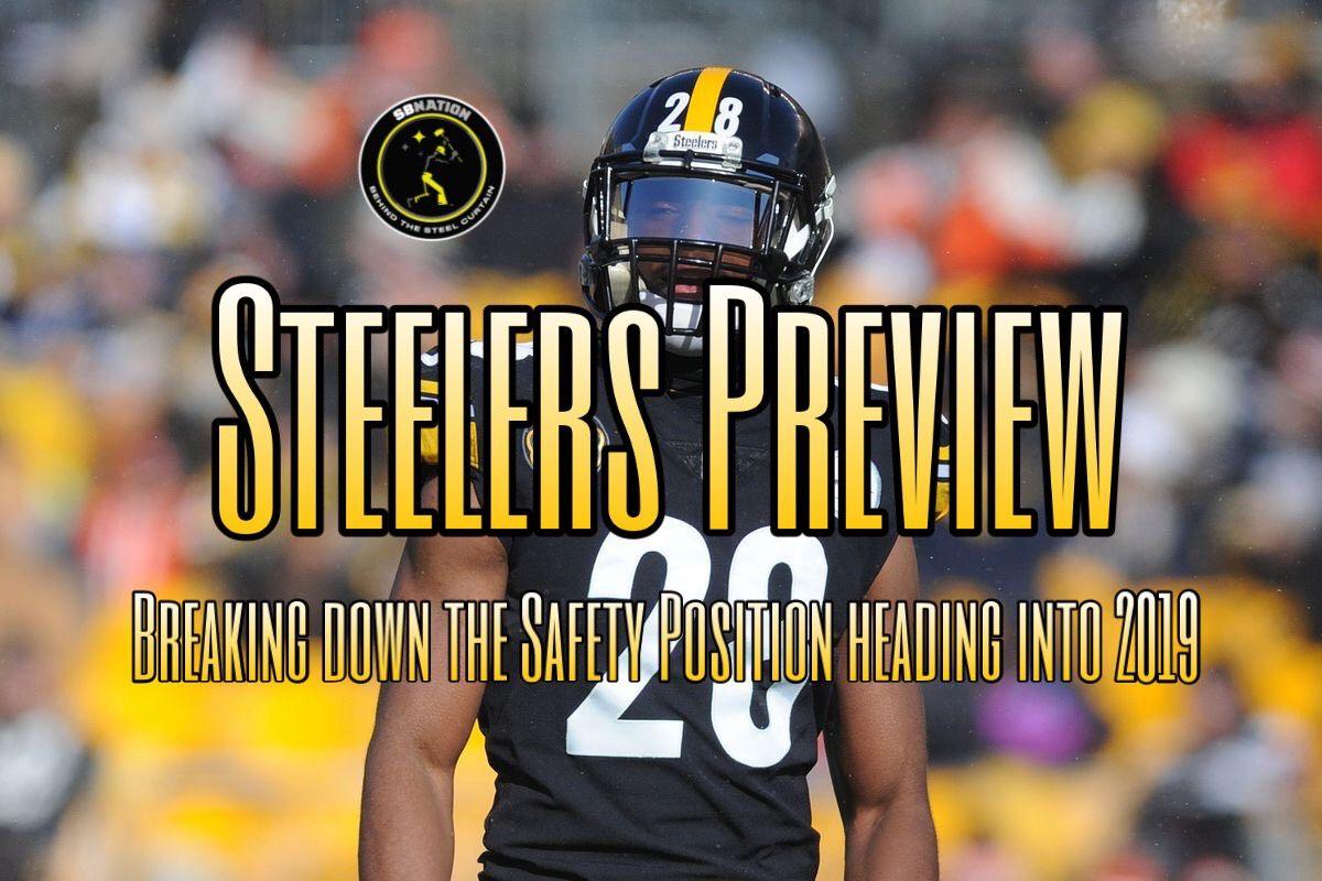 2d39f06c0 Podcast  Previewing the steelers 2019 Depth chart — The Safeties ...