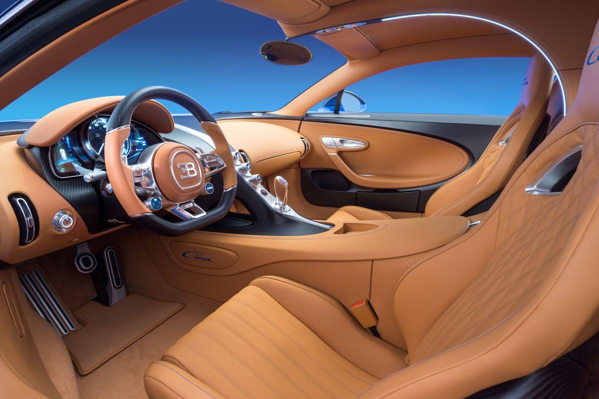 Bugatti S Million Supercar Has Diamonds In The Speakers The
