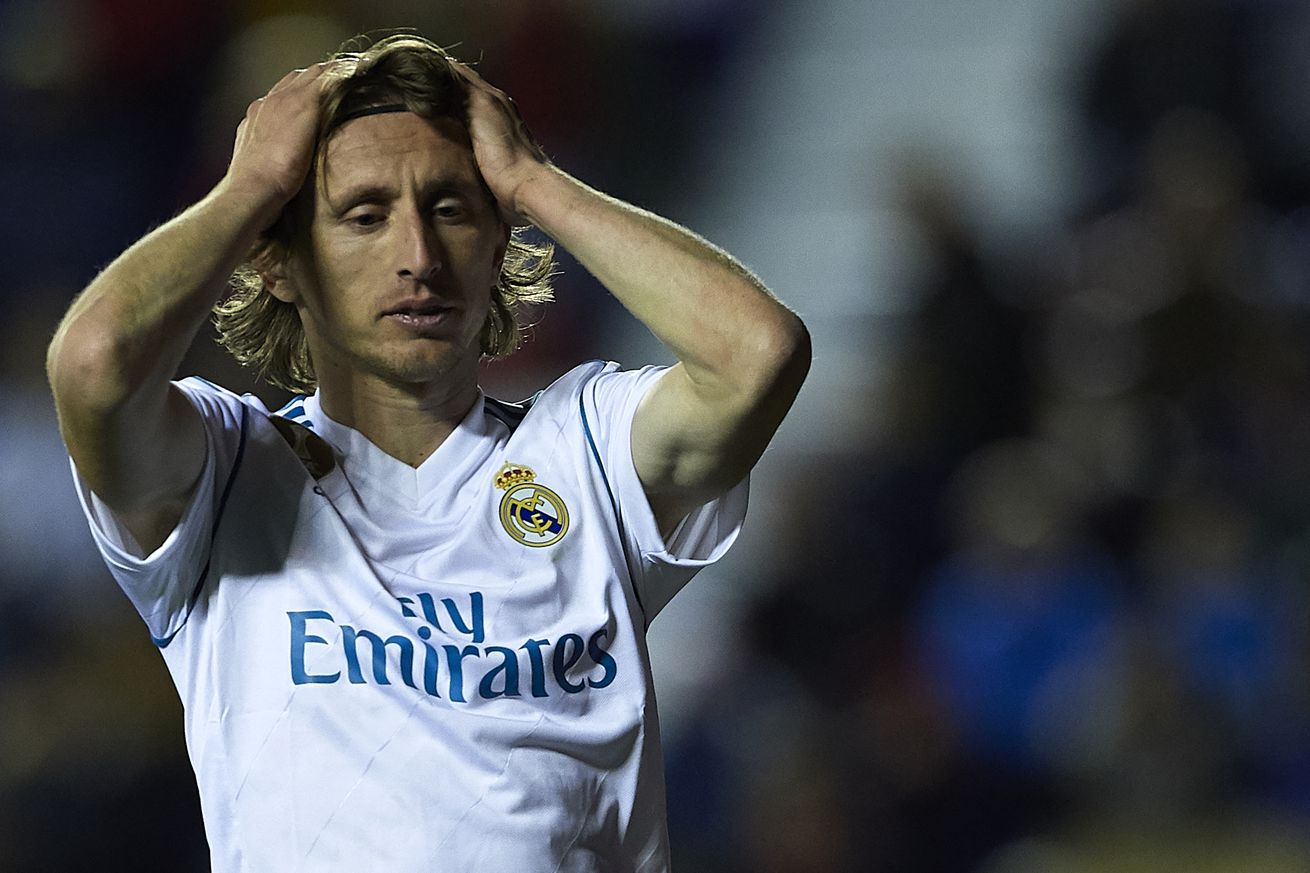 OFFICIAL: Luka Modric medical report