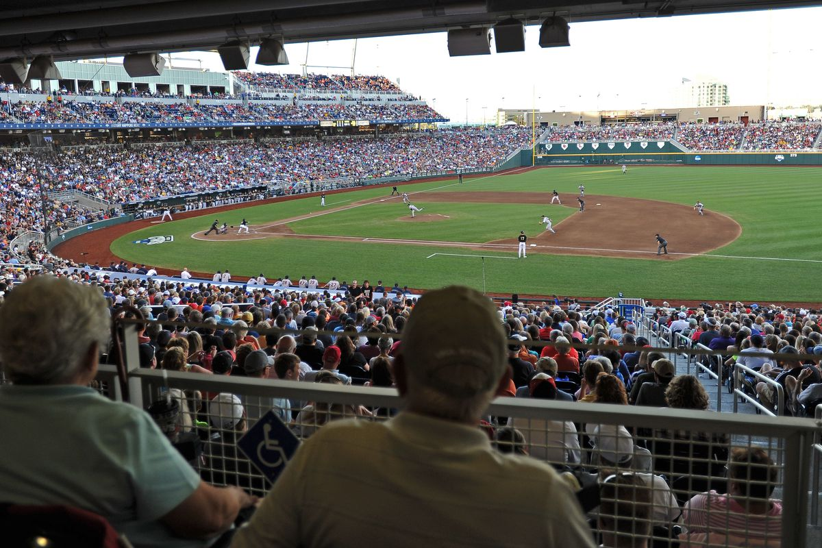 What every college team is playing for- a trip to Omaha